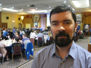 Joe O'Brien at the Constitutional Convention in Malahide recently where it was decided to give Irish emigrants a vote in Presidential elections
