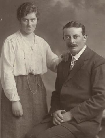 Bridget and James Harte - Grandparents of Joe O'Brien
