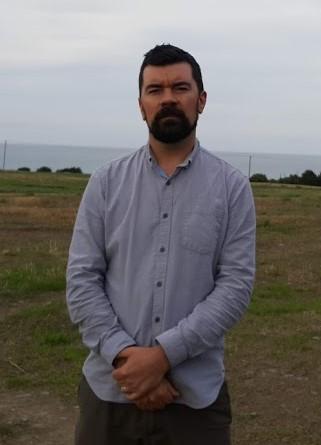 Joe O'Brien at the Green field Castlelands site 2